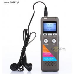 Dyktafon cyfrowy Q6 8GB (145h pracy)