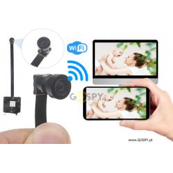 Kamera do ukrycia instalacyjna WIFI NX-45W