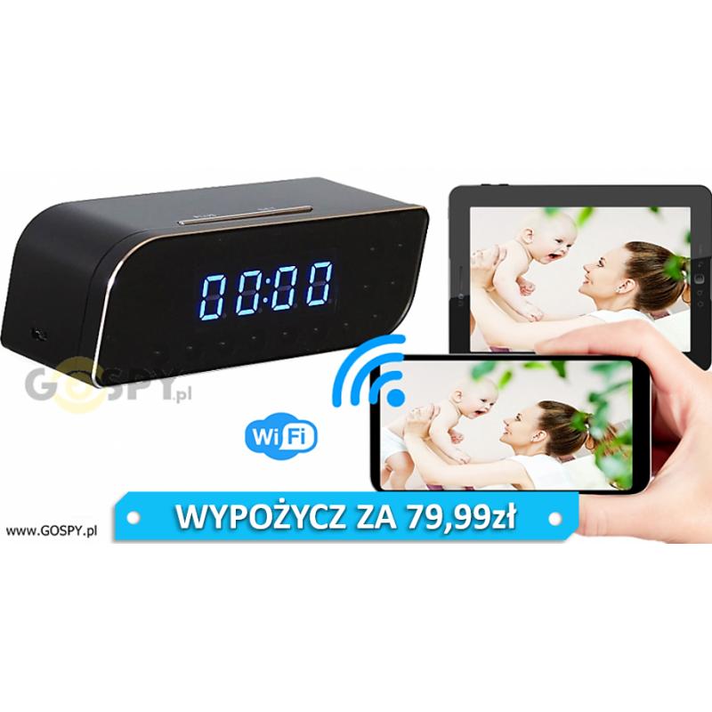 ZEGAREK BUDZIK SZPIEGOWSKI HD WIFI NX 70