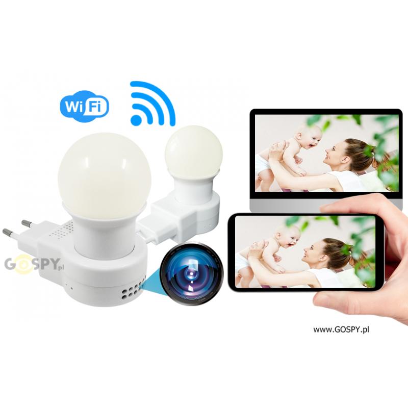 c1ea86a2a9f34d Nocna Lampka LED kamera FULL HD Wi-Fi K| Gospy.pl