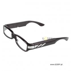 Okulary szpiegowskie z ukrytą kamerą full-hd V12