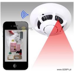 Kamera Wifi w czujce dymu UFO